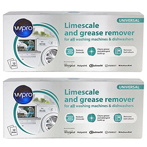 Indesit Dishwasher 3in1 Limescale Descaler & Detergent Remover 24 x 50g Sachets (2 Packs) by Indesit