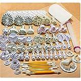 Utensilios de cocina pastel Diy herramienta para hornear Set para 21 68 plástico galletas molde tortas china utensilios de cocina