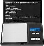 Digital Pocket Scale 500 x 0.01g, Mini Scales 500g, Mini Digital Weighing Kitchen
