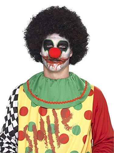 shoperama Professionelles 7-teiliges Schminkset Killer-Clown Make-up Schminke FX Untoter Halloween...