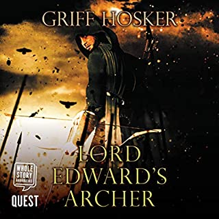 Lord Edward's Archer audiobook cover art