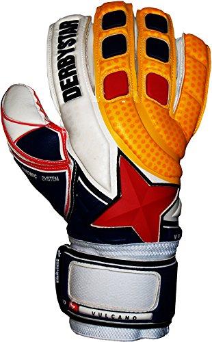 Derbystar Vulcano, 9,5, weiß orange navy rot, 2659095000