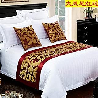 SjyBed Bed Runner Scarf Bedding high-Grade European Bed mat Bed Cover Table Flag Decoration Strip