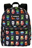 Minecraft Backpack All Over Print 16' Bag
