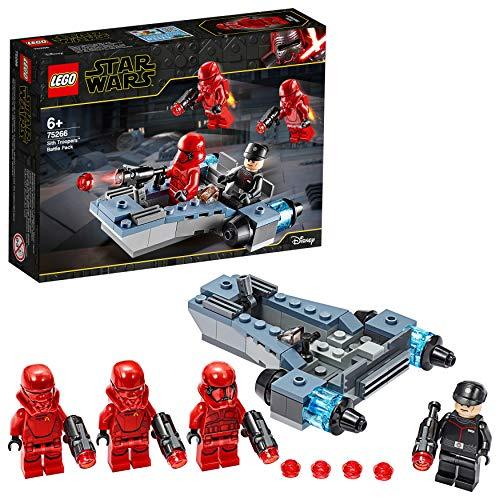 LEGO 75266 StarWars PackdeCombate:SoldadosSith, Juguete de Construcción