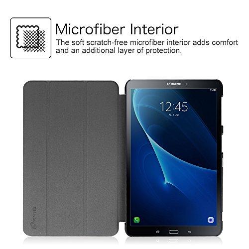 Fintie Hülle kompatibel mit Samsung Galaxy Tab A 10.1 2016 - Ultra Schlank Superleicht Ständer Schutzhülle mit Auto Schlaf/Wach Funktion für Samsung Galaxy Tab A 10,1 Zoll T580N / T585N, Himmelgrau