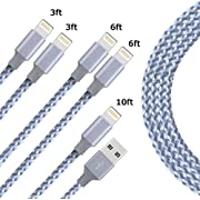 Durable Nylon Braided Wire Data Sync Charging Cord