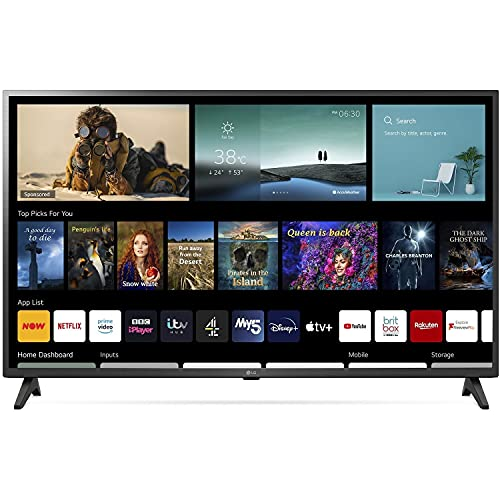 LG 43' Smart Ultra HD HDR LED 4K TV
