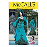 McCall's Patterns M7218 Peacock Jacket, Corset and Skirt by Yaya Han Sewing Template, E5 (14-16-18-20-22)