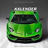 Lamborghini Aventador SVJ Kalender 2021 Wochenplaner Notizbu