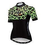weimostar 2020 Jersey de Ciclismo de las Mujeres, Camisas de Bicicleta Para Señora Transpirable Uniformes de Ciclismo Anti Sudor