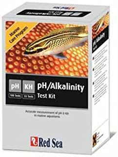 Red Sea Fish Pharm ARE21455 Marine Care Program pH/Alkalinity Test Kit for Aquarium, 100 Tests