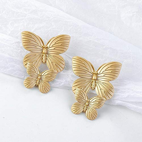 ZNYD New Gold Color Earrings For Women Multiple Trendy Round Geometric Drop Statement Earrings Fashion Party Jewelry Gift (Color : 15)