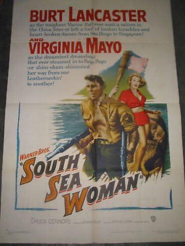 5% OFF SOUTH SEA WOMAN ORIGINAL U.S. MOVIE New color LAN BURT POSTER ONE-SHEET