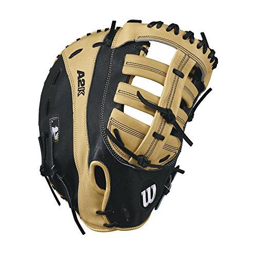 Wilson A2K 2800 12' Pro Stock First Base Baseball Mitt - Right Hand Throw