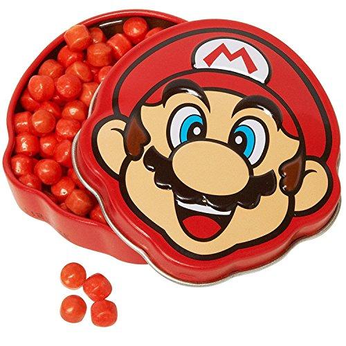 Nintendo boîte métal Bonbon Visage Super Mario Bros