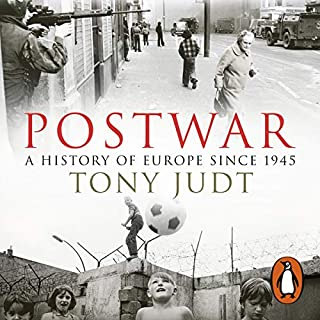 Postwar     A History of Europe Since 1945              De :                                                                                                                                 Tony Judt                               Lu par :                                                                                                                                 Ralph Cosham                      Durée : 43 h et 1 min     1 notation     Global 4,0