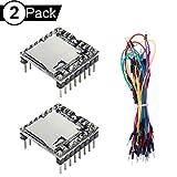 DAOKI 3PCS U Disk Mini MP3 DFPlayer Player Module Audio Voice Board Shield for Arduino UNO with Jump Wire