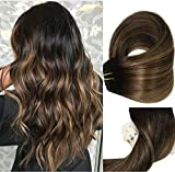 Best Clip In Hair Extensions - Clip In Human Hair Extensions Thicken Double Weft Review