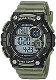 Armitron Sport Men's 40/8445DGN Digital Chronograph Dark Green Resin Strap Watch
