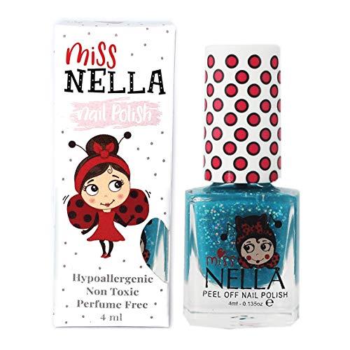 Miss Nella - Esmalte de uñas especial para niños con fórmula a base de agua