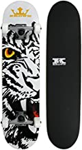 Krown KRRC-49 Bengal Rookie Complete Skateboard, 7.5 x 31