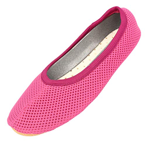 Beck Damen AirBecks Gymnastikschuhe, Pink (pink 06), 41 EU