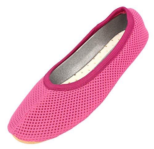 Beck Unisex AirBecks Gymnastikschuhe, Pink (pink 06), 36 EU