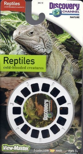 Discovery Channel Reptiles 3D View-Master 3 Reel Set by View Master