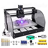 2-in-1 7000 mW CNC 3018 Pro-M CNC Engraving Machine GRBL...