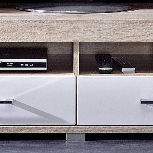 Peter DSHW561030 TV-Element Schrank Unterteil Kommode fernseherstand, Holz, braun, 48.0 x 120.0 x 38.0 cm - 3