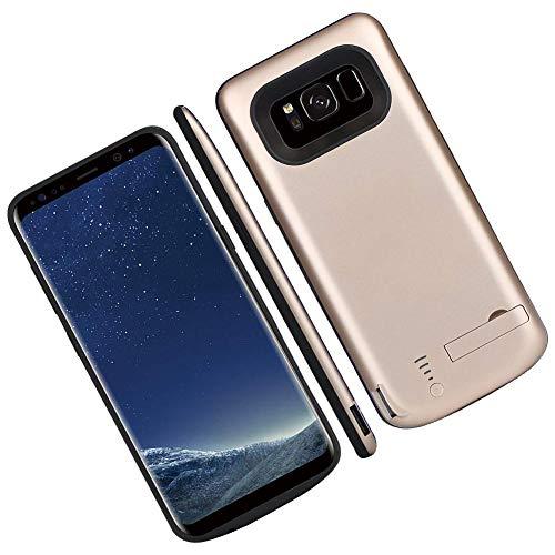 LiféUP 2 en 1 Funda de Batería para Samsung Galaxy S8 Plus Color Disponible Indicador LED de Batería Recargable Capacidad de la Batería 6000mAh