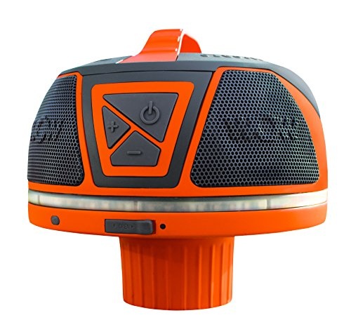 Wow World of Watersports Wow Sound 17-9000, Bluetooth Floating Speaker, Waterproof, 50 Hour Battery,...