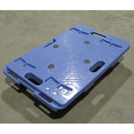 ナンシン 樹脂縦横連結段積みドーリー PD406-3SE 00018745 【まとめ買い3台セット】