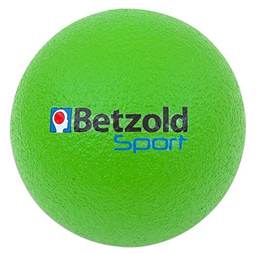 Betzold Softball grün - Kinder-Softball, Soft-Bälle, Kinder-Ball Schaumstoff, Schaumstoffball weich leicht