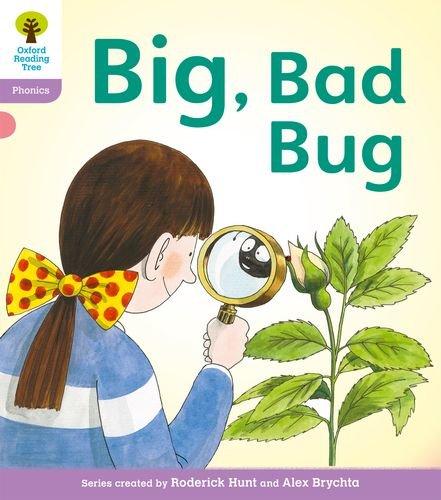 Oxford Reading Tree: Level 1+: Floppy's Phonics Fiction: Big, Bad Bug!の詳細を見る