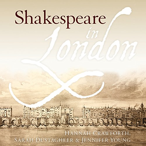 Shakespeare in London audiobook cover art