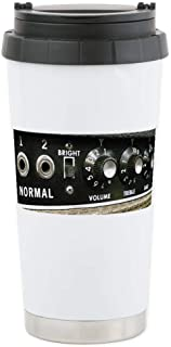 CafePress Amplifier Control Panel Stainless Steel Travel Mug, Insulated 16 oz. Coffee Tumbler