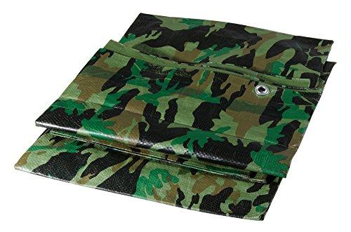 Verdelook Bâche camouflage 2 x 6 m grammage 100 g/m²