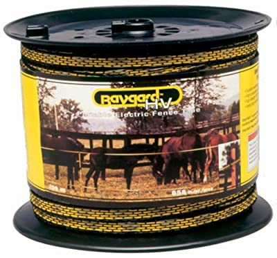 Baygard Electric Fence Yellow/Black Wire
