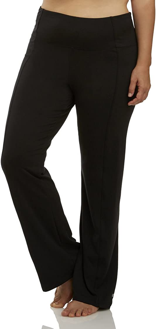 Marika Women's Plus SizeHigh Rise Tummy Control Slim Boot Pant 3