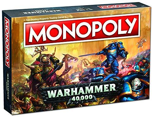 Warhammer 40k 40,000 Monopoly Juego de Mesa - Ingles