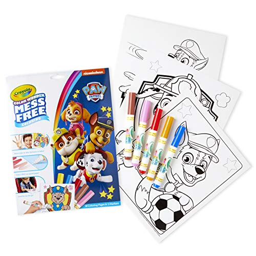 Crayola Paw Patrol Color Wonder, Mess Free Coloring Pages &...