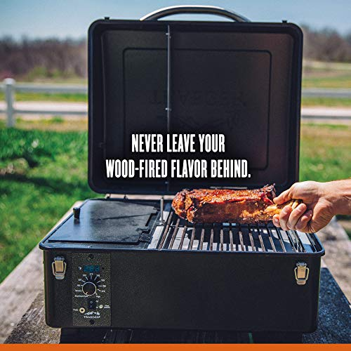 Traeger TFT18PLDO Scout Wood Smoker Grill, One Color