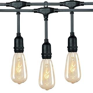 طلب 25Ft G40 سلسلة أضواء العالم مع لمبات