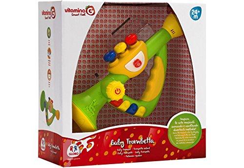 Globo Toys Globo 5176 25,5 cm VITAMINA _ G Trompet met muziek en geluid
