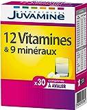 Juvamine 12 Vitamines & 9 Minéraux 30 Comprimés à Avaler