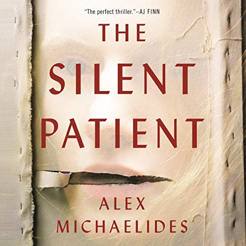The Silent Patient audiobook cover art