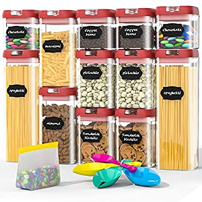 Airtight Food Storage Containers Set, BPA Free ...