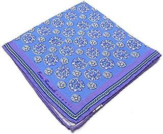 Errico Formicola Fazzoletto da taschino 100% seta disegno fiore